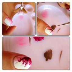 cherry blossom nails tutorial