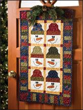 A cute door banner for winter. Can be bought at epatternscentral.com as a pdf pattern.