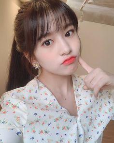 iz*one: ahn yu jin Yuri, Kpop Girl Groups, Kpop Girls, Pre Debut, Japanese Girl Group, K Idol, Kim Min, The Most Beautiful Girl, Pretty And Cute