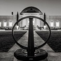 The sundial at #griffithobservatory…