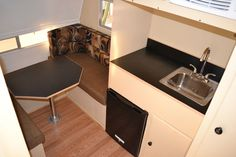 New build micro trailers with an exterior vintage shape. Starting at $2995.00