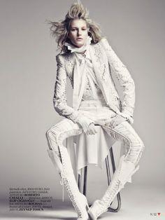 nice Vogue Turquia | Editorial de Moda Abril 2013 | Marique Schimmel por Emre Unal