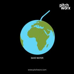 Save Water Do you know that by half of the world's population will be living in water-stressed areas?⠀ And an estimated 790 million people of the world's population) have no access to an improved water supply. ⠀ Think once, can you live without water? Creative Design Agency, Ads Creative, Creative Posters, Save Our Earth, Save The Planet, Water Poster, Save Water, Environmental Art, Graphic Design Posters