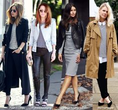 Blue is in Fashion this Year: Hot to Wear: Stripes & Jackets