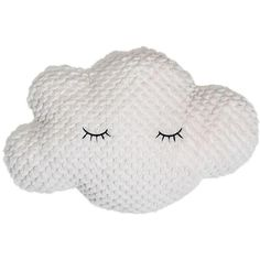 Cloud Pillow in White design by BD Mini ($29) ❤ liked on Polyvore featuring home, home decor, throw pillows, fillers, pillows, fabric home decor, white accent pillows, white home decor, white toss pillows and white home accessories