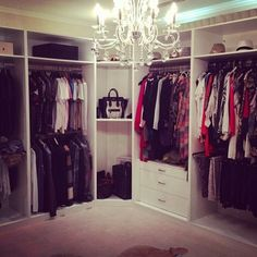 When you are thinking about redoing your home, one aspect that you should carefully consider redoing is the closet. The problem is you may not know the benefits of using the dream closets designs to Master Closet, Closet Bedroom, Closet Space, Dream Bedroom, Big Closets, Dream Closets, Closet Vanity, Walk In Wardrobe, Perfect Wardrobe