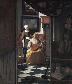 Jan Vermeer van Delft - Der Liebesbrief