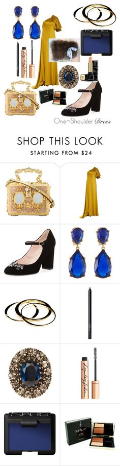 """Night at the Opera"" by alisafranklin on Polyvore featuring Dolce&Gabbana, Prabal Gurung, Kate Spade, Kenneth Jay Lane, Janna Conner, NARS Cosmetics, Alexander McQueen, Charlotte Tilbury and Guerlain"