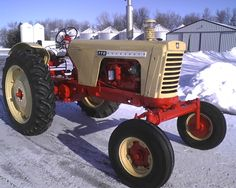 This is a picture of my 1963 Cockshutt 770 that was restored in 2013 ...
