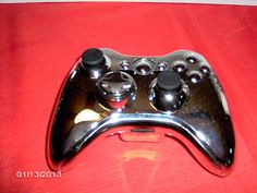 XBOX 360 !!CHROME CUSTOM-BUILT!! WIRELESS CONTROLLER !!MINT CONDITION!!
