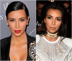 Aprenda a fazer make com técnica do contorno favorita de Kim Kardashian