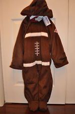 NWT INFANT Baby BOY Carters Football 1 PC SNOWSUIT Bunting Pram 24M 24 MTH NEW