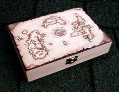 World of Warcraft  Azeroth map box