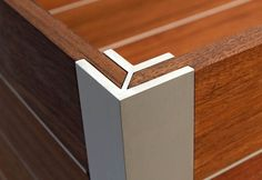 wood aluminum containers modern with lid - Google Search