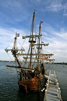 The first ship like El Galéon to arrive in St. Augustine had the city's founder, Don Pedro Menéndez de Avilés, on board (photo courtesy of Mike Walker)