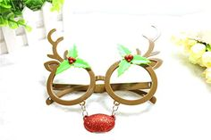 Crazy NIght Christmas Sun Glasses Costume Accessory Novelty Sunglasses -- Want additional info? Click on the image.  This link participates in Amazon Service LLC Associates Program, a program designed to let participant earn advertising fees by advertising and linking to Amazon.com.