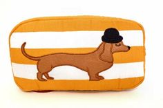 Sausage Dog cosmetic bag - 2011 Bags & Accessories
