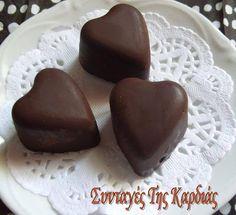 ΣΥΝΤΑΓΕΣ ΤΗΣ ΚΑΡΔΙΑΣ: Σοκολατάκια καρδούλες και όχι μόνο!! Cooking Recipes, Pudding, Breakfast, Desserts, Blog, Morning Coffee, Tailgate Desserts, Deserts, Chef Recipes