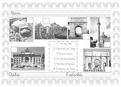 Mi grimorio escolar: LOS MONUMENTOS DE ROMA