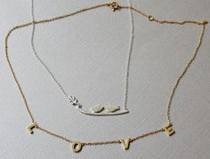 Celebrating a new or long-lasting love? Show off your happiness with romance inspired pendant necklaces in gold and silver tones, at www.mydailystyles.com!