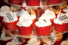 Burberry Inspired Guest Dessert Feature | Amy Atlas Events