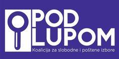 """Koalicija za slobodne i poštene izbore """"Pod lupom"""", koju čini šest organizacija civilnog društva iz cijele Bosne i Hercegovine, pozvala je danas građa..."""
