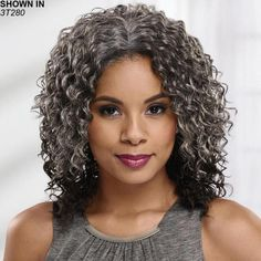 Natural Curls with Curtain Bangs and Highlights - 20 Chicest Hairstyles for Thin Curly Hair – The Right Hairstyles - The Trending Hairstyle Curly Hair Cuts, Short Curly Hair, Curly Hair Styles, Diahann Carroll, Trending Hairstyles, Wig Hairstyles, Female Hairstyles, Haircuts, Natural Wavy Hair