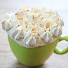 Triple Coconut Mug Cake | Kirbie's Cravings | A San Diego food blog