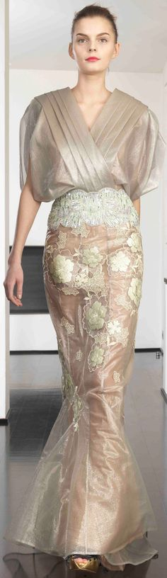 Dany Atrache ~ Couture Spring-summer 2014