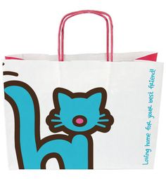 Barks & Whiskers // s Your Best Friend, Best Friends, Pet Boutique, Paper Shopping Bag, Toronto, Canada, Tote Bag, Cats, Design