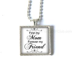 Christmas gift for mom gift  from daughter silver by yayadiyclub, $15.99