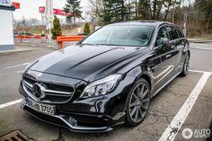 Mercedes-Benz CLS Shooting Brake | Mercedes-Benz CLS 63 AMG X218 Shooting Brake 2015 - 25 mars 2015 ...