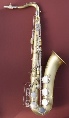 first saxophone ever made by Adolphe Sax  ~1847