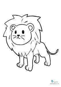 Dibujos Para Pintar Y Colorear Faciles Mas De 100 Pequeocio Dibujos Animales Para Pintar Dibujos Para Imprimir