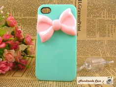 designer iphone 4 casesUnique pink bow iPhone by MadePhoneCase, $16.99
