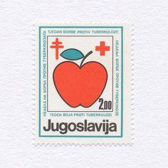 Red Cross Anti Tuberculosis (2,00 ). Yugoslavia, 1983. Design: Unknown. #mnh #graphilately
