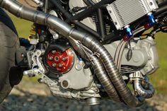 Custom Ducati pipes
