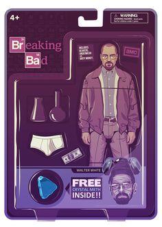 Tributo ilustrado a Breaking Bad, las 25 mejores obras | NiceFuckingGraphics!