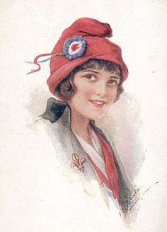 Bonnet Rouge - the red cap of liberty worn during the French Revolution