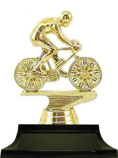 BMX CYCLING METAL MEDAL 50mm TROPHY AWARD FREE RIBBON
