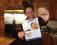 Helping me to remember something that I love to do>  Blue Apron!