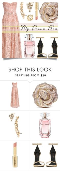 """""""My Dream Prom"""" by sonny-m ❤ liked on Polyvore featuring Notte by Marchesa, Judith Leiber, Marchesa, Elie Saab, Napoleon Perdis, Yves Saint Laurent, Rebecca Minkoff and promdoover"""
