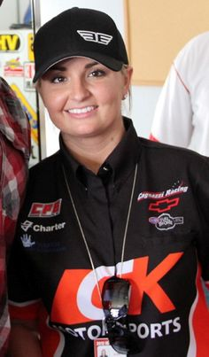First female pro stock winner ever. Amazing!