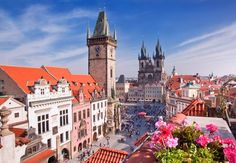 Prague Vacation Ideas Top Five Places To Visit In Prague Prague Vacation Ideas. Prague is one of the oldest cities in Europe and a hub of activity. Many different movies were filmed in Prague and i… Budapest, Tours, Prague Travel, Old Town Square, Excursion, Voyage Europe, Romantic Destinations, Travel Destinations, European Vacation