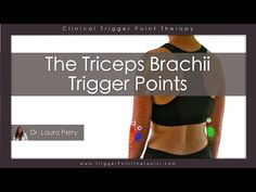 The Triceps Brachii Trigger Points - https://www.youtube.com/watch?v=Dhql_iTg4pA