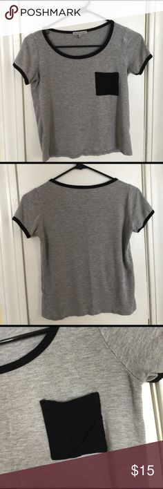 t shirt charlotte russe shirt size small but it does fit a little tighter and shorter Charlotte Russe Tops Tees - Short Sleeve