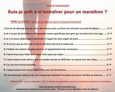 Suis-je prêt à m'entraîner pour un #marathon ? Les 10 bonnes questions à se poser.