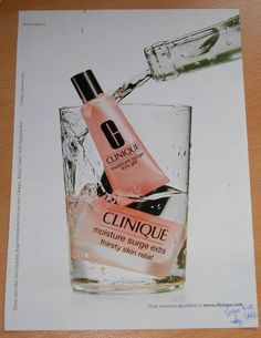 Clinique - Moisture Surge Extra , Irving Penn