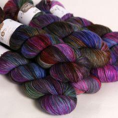 Hedgehog Fibres is an Irish artisan fibre and yarn dyeing studio located in Cork, Ireland. Yarn Thread, Yarn Stash, Knitting Yarn, Knitting Patterns, Yarn Color Combinations, Hedgehog Fibres, Yarn Inspiration, Passementerie, Yarn Shop