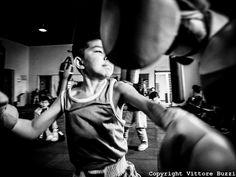 Boxe, Mongolia, kid